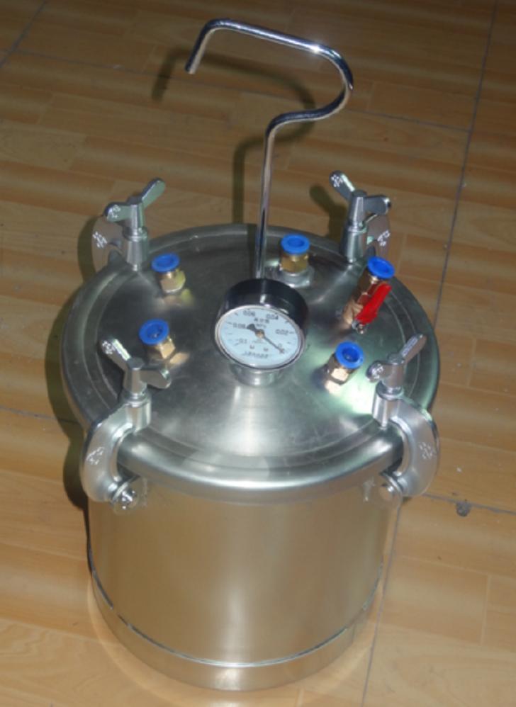 玻璃钢碳纤维RTM真空灌注树脂回流罐储胶罐压力罐图片
