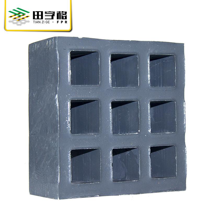 江苏田字格玻璃钢格栅重磅格栅5027图片