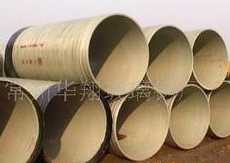 华翔 玻璃钢管道 玻璃钢缠绕管 玻璃钢电缆管 污水管 电话议价图片