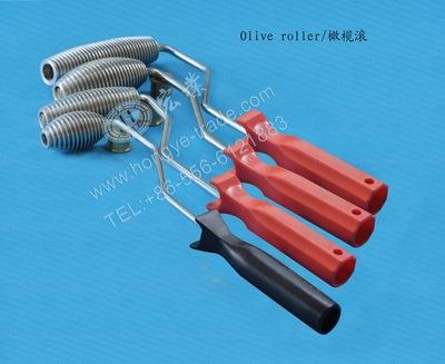 玻璃钢手糊工具 可在丙酮内清洗 铝制 消泡 橄榄滚图片