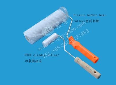 玻璃钢手糊工具 免清洗 消泡 四氟圆柱滚图片