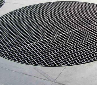 玻璃钢防腐 格栅板 地沟盖板 FRP 25#1220*4007 价格电议图片