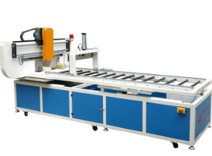 玻璃钢自动在线切割机 玻璃钢型材切割机 玻璃钢切割设备 价格电议图片