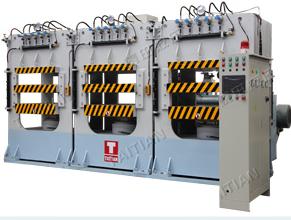 龙门框架式碳纤维模压成型机 价格电议图片