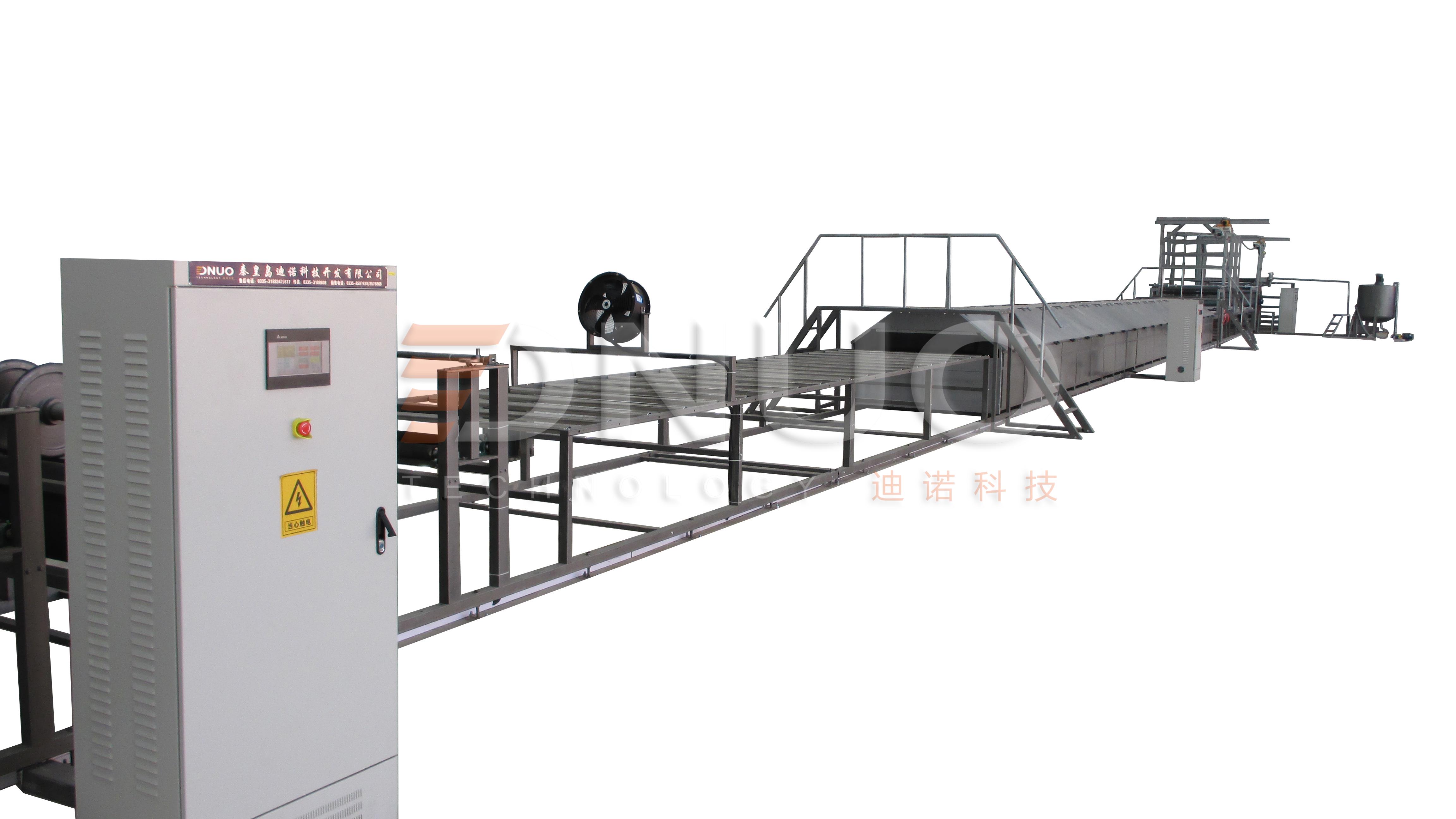 秦皇岛迪诺FRP采光板生产线图片