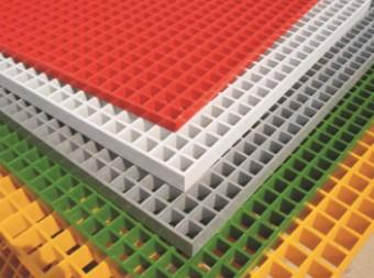 威远盛祥复合材料有限公司  规格1玻璃钢格栅(颜色可定制)  价格电议  用于石油、化工电子、电力、纸业等 图片