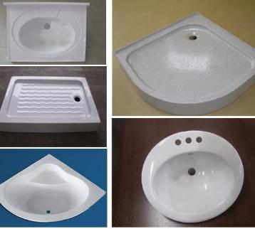SMC / BMC生态学水槽、洗脸盆、拖把槽  价格电议图片