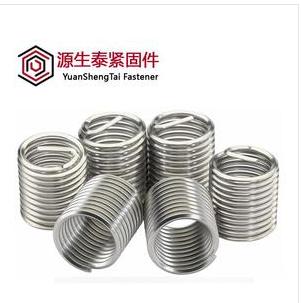 源生泰  304不锈钢螺丝套 钢丝螺套 螺纹保护套M2-M16  价格电议