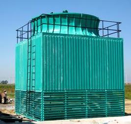 威远盛祥  WBBF-50-800系列方形全钢框架玻璃钢冷却塔