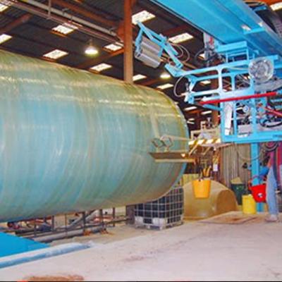 中通  专业SF罐缠绕机连续缠绕机 制管机 全自动连续制管机  价格电议图片