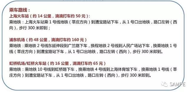 SAMPE、中国2018年会、上海光大会展中心、上海光大会展中心、