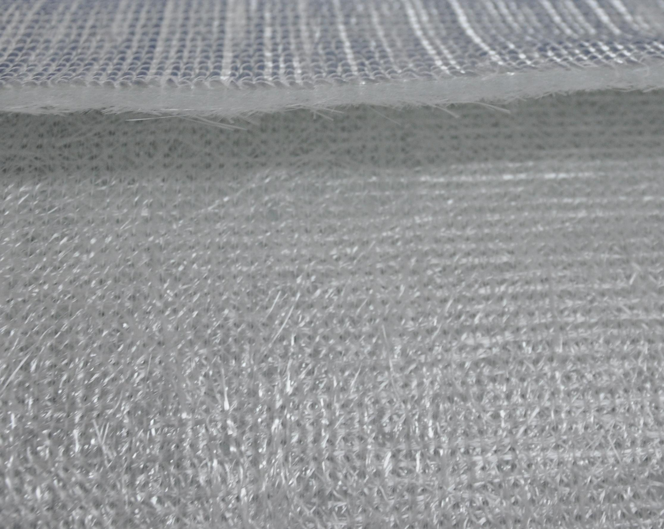 玻璃纤维缝编织物--双轴向夹芯毡图片