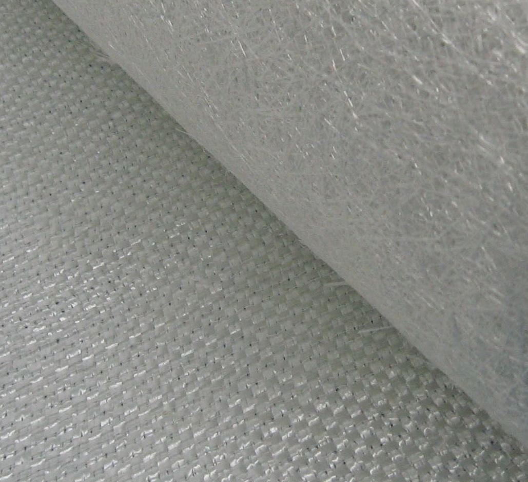 玻璃纤维缝编织物--方格布复合毡图片