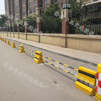济南中正  水泥隔离墩高度50  用于道路交通 停车场等  价格电议图片