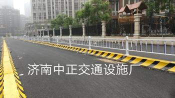 济南中正 围挡底座隔离墩 城市护栏水泥墩 用于道路 工地等 价格电议图片