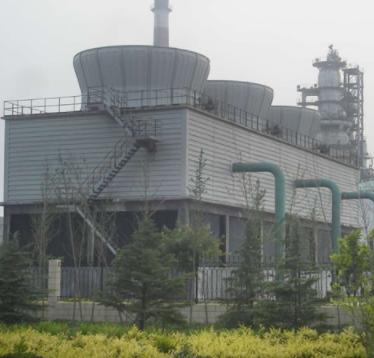 潍坊华日  混凝土结构冷却塔  用于化工行业  价格电议图片