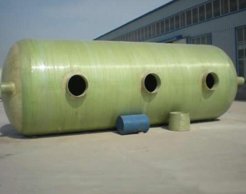 潍坊华日  玻璃钢缠绕化粪池  用于住宅小区 办公大楼等  价格电议