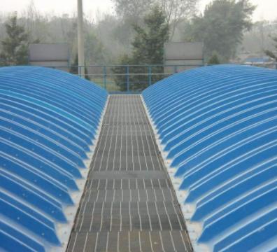 潍坊华日  玻璃钢污水池罩  用于化工行业  价格电议