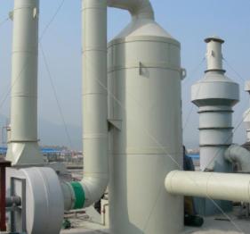 山东万兴  玻璃钢酸雾净化塔  用于化工等行业领域  价格电议图片