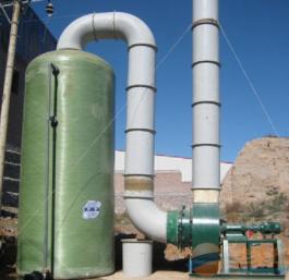 山东万兴  玻璃钢填料吸收塔  用于化工等行业领域  价格电议图片