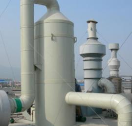 山东万兴  玻璃钢废气净化塔  用于化工等行业领域  价格电议图片