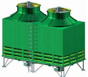 山东万兴  无填料喷雾冷却塔  用于化工等行业领域  价格电议图片