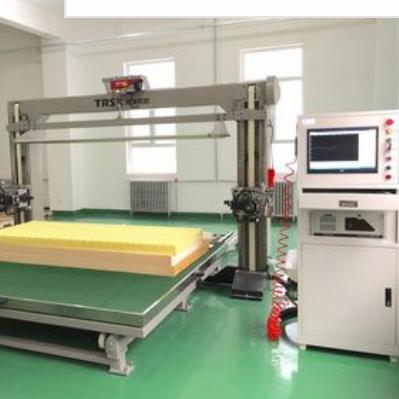 腾瑞  TRCNC-ZZ数控转台单振刀海绵仿形切割机  价格电议图片