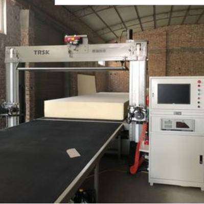 腾瑞  TRCNC-ZS数控平立双振海绵仿形切割机  价格电议图片