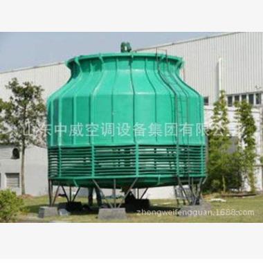 中威  民用工业型圆形逆流式玻璃钢冷却塔  价格电议图片