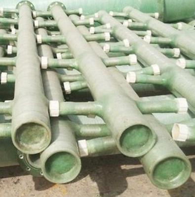 山东鲁恒 玻璃钢脱硫管道 用于各种土壤环境及海底铺设 价格电议 图片