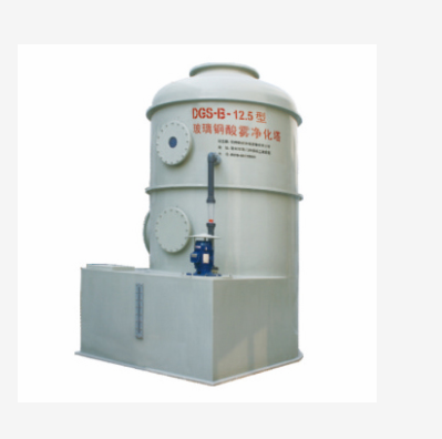 恒威  DGS-B型玻璃钢酸雾净化塔  用于化工 机械等行业  价格电议图片