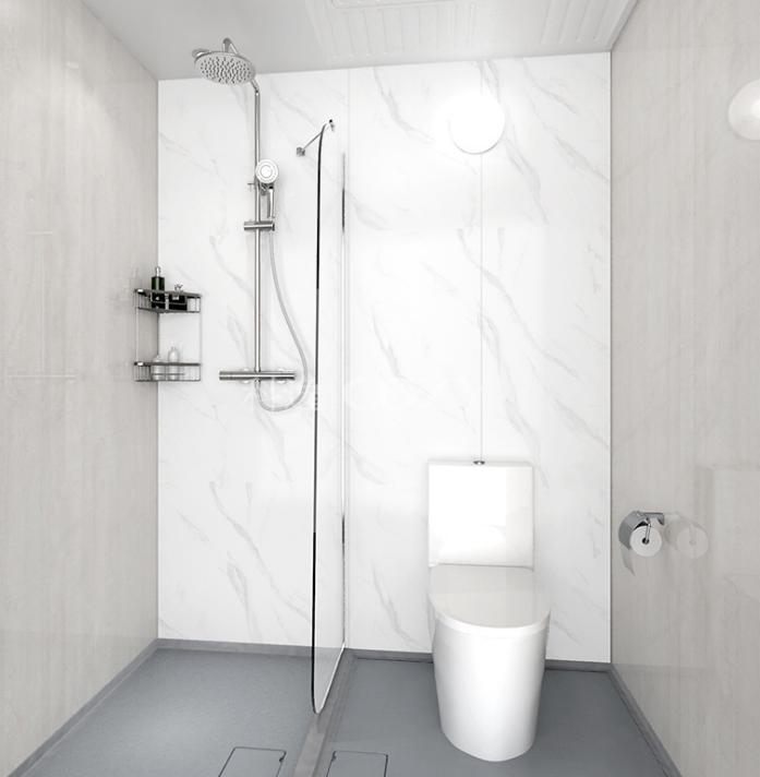 科逸整体浴室 卫生间装修 卫生间集成定制 卫浴整装设计 价格电议图片