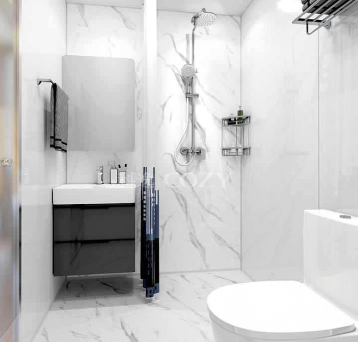 科逸整体浴室 卫生间装修 科逸宾馆宿舍卫生间整体淋浴房定制装修 价格电议图片