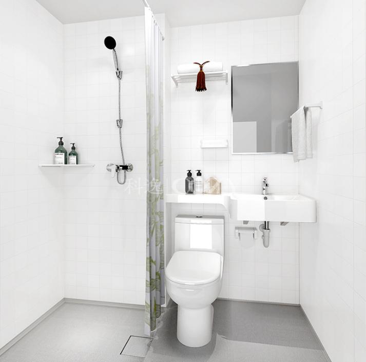 科逸整体浴室 淋浴房装修 集成一体化卫生间装修设计 价格电议图片