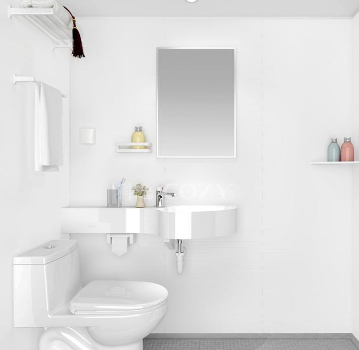 科逸整体浴室 卫生间 一体化隔音卫生间 公寓宿舍整体卫生间图片