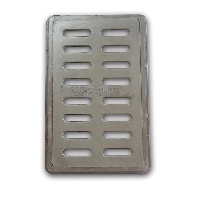 厂家直销复合树脂箅子500*300*40mm C型雨水污水排水沟盖板 绿化带园林