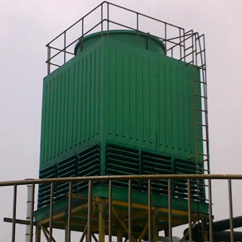 全玻璃钢结构冷却塔 价格电议图片