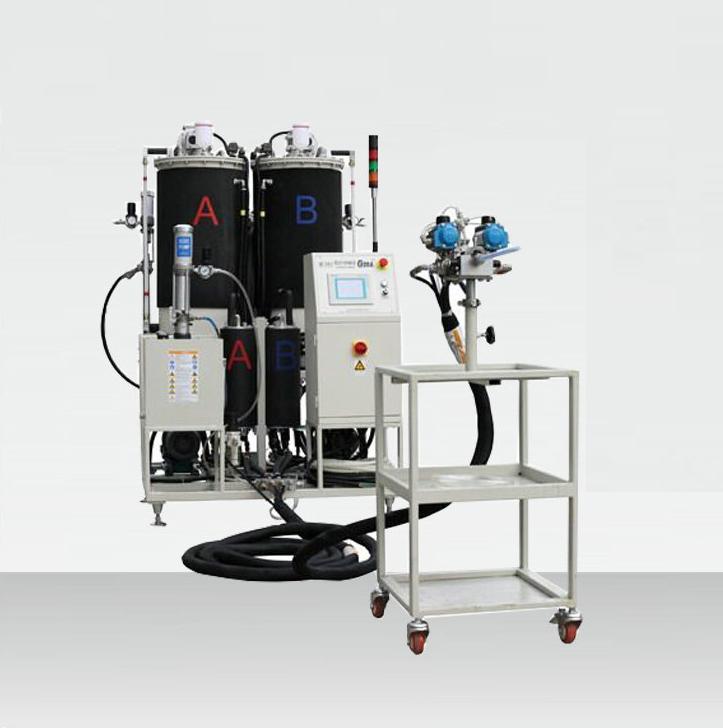 聚氨酯树脂拉挤设备 聚氨酯拉挤注胶设备图片