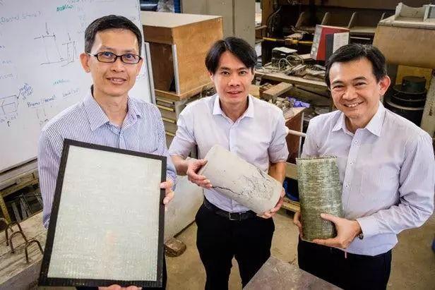 新加坡科学家研发出混凝土加固用新型纤维增强复合材料-复合材料网