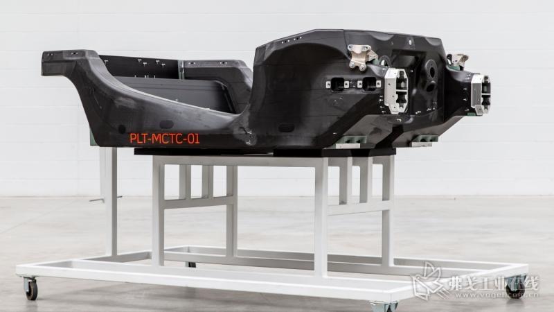 迈凯伦汽车提供第一个原型碳纤维底盘-复合材料网