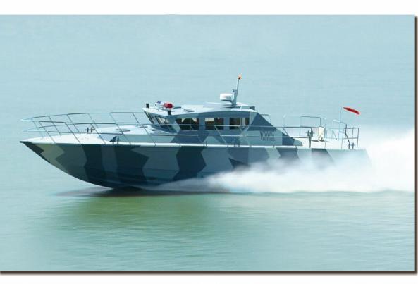 高质量加工 供应18米超高速巡逻艇