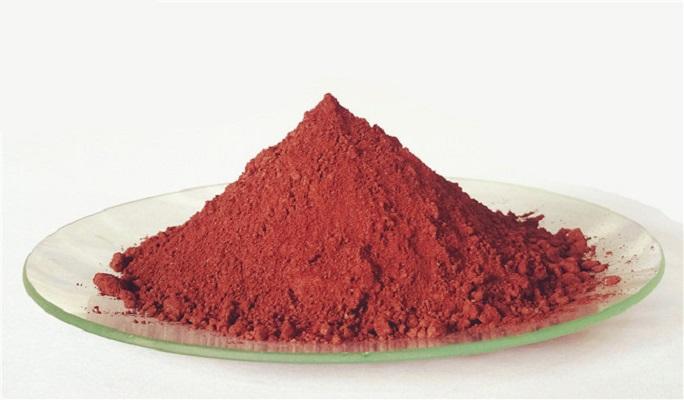云母氧化铁(红色)图片