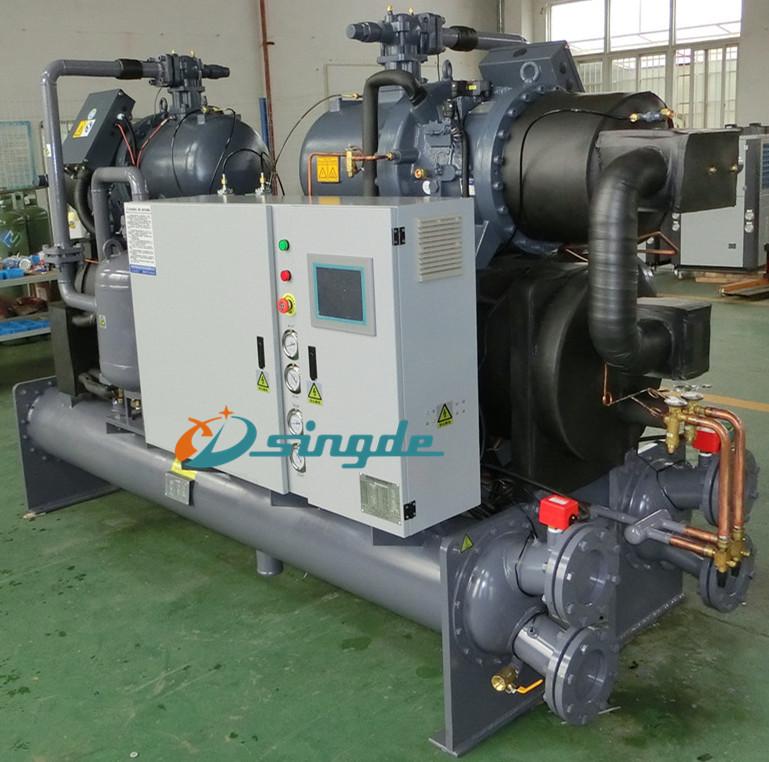 螺杆式工业冷水机价格图片