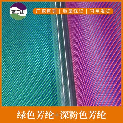 绿色芳纶+深粉色芳纶图片