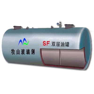 双层油罐内钢外玻璃纤维增强塑料 价格电议