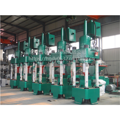 TGM400吨陶瓷地板成型机全自动石膏板磨料成型粉末液压机快速一次成型图片