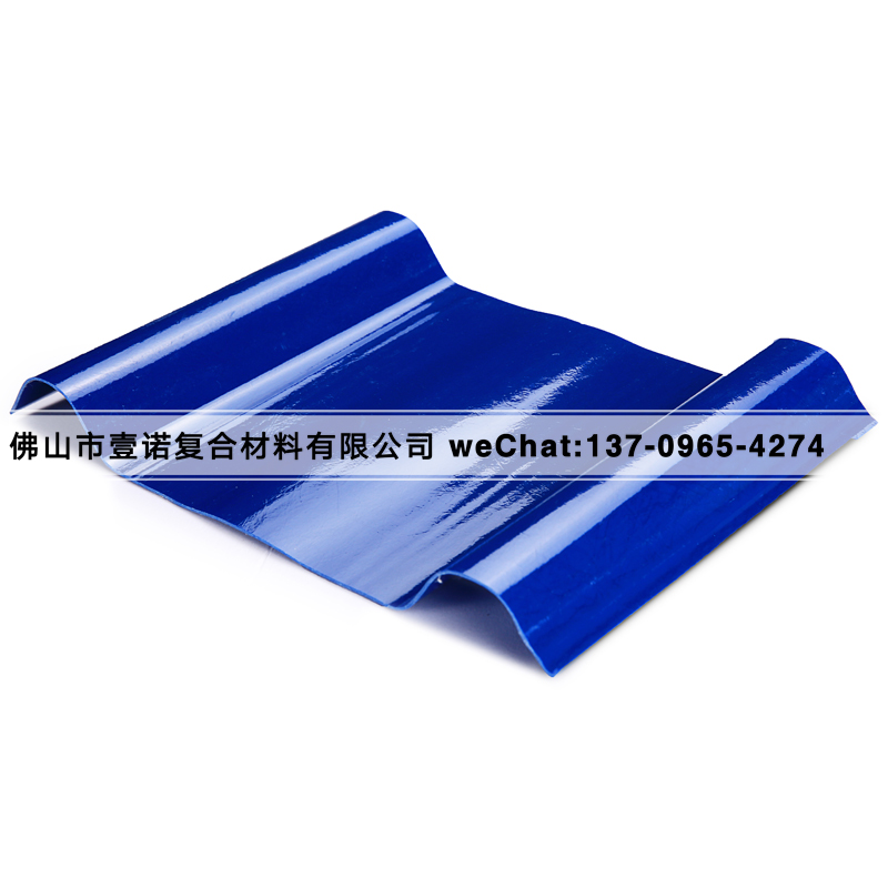 玻璃钢防腐采光瓦砖厂染色厂专用图片