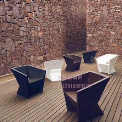 雨桐YT-0019 玻璃钢家具家用办公家具 玻璃钢异形定制休闲椅 餐厅客厅家具编号008