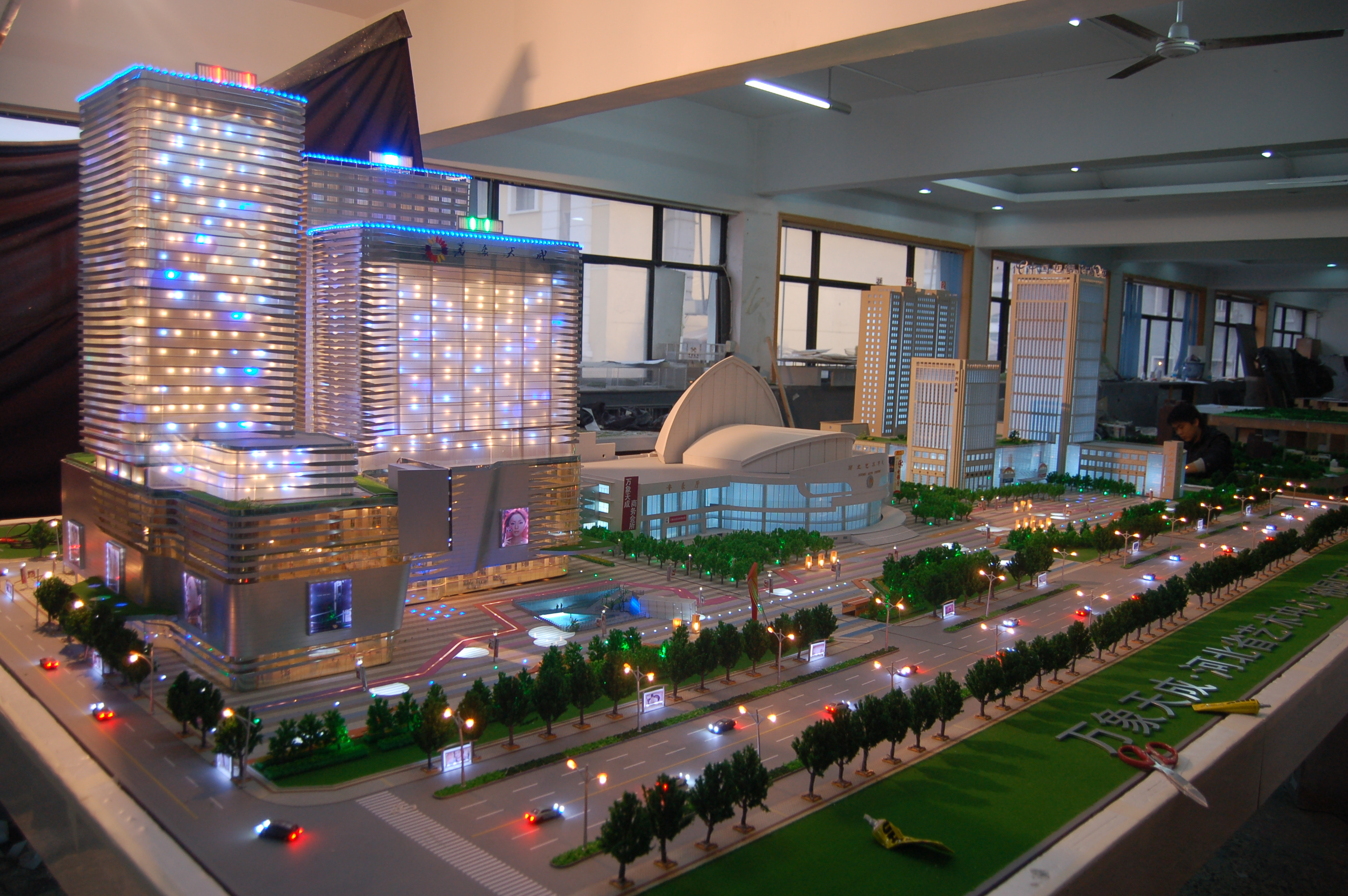 常州江阴南通沙盘模型/机械模型制作图片