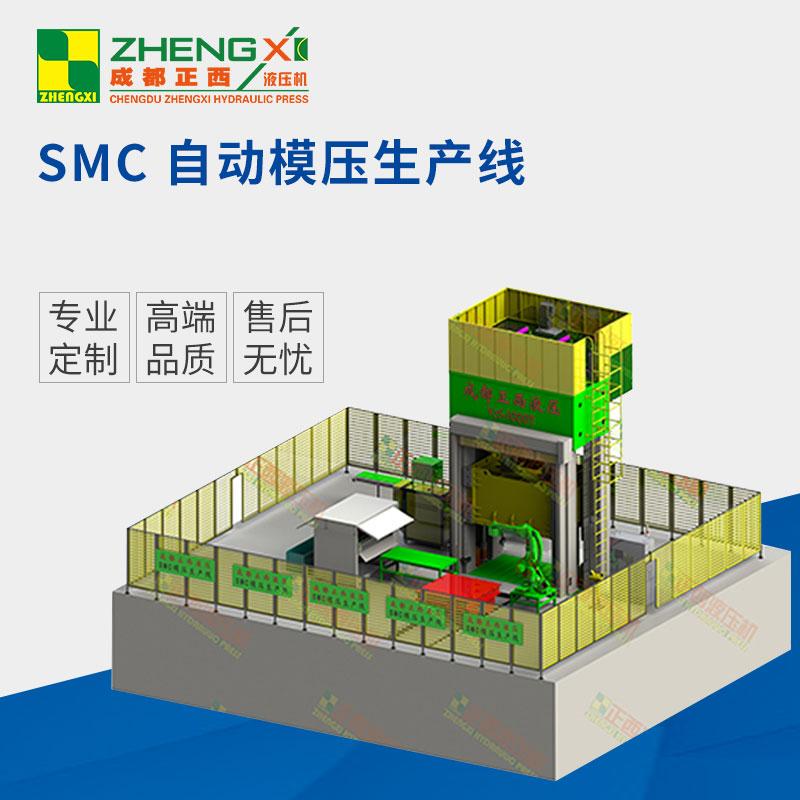 SMC-自动模压生产线图片